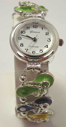 Heirloom Hourglass Watch Flip Flop Watch