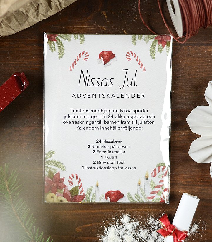 Nissas Jul, Adventskalender - Fashionell