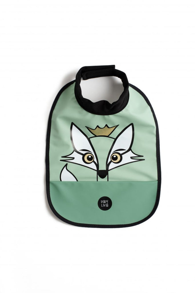 Haklapp Fox, powder green - babyLivia