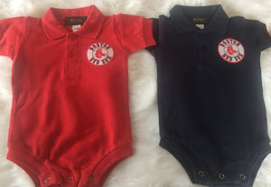Red Sox Infant Polo Shirt w/ Snaps