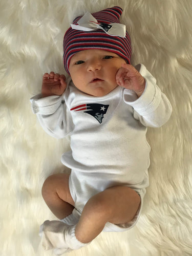 New England Patriots Onesie