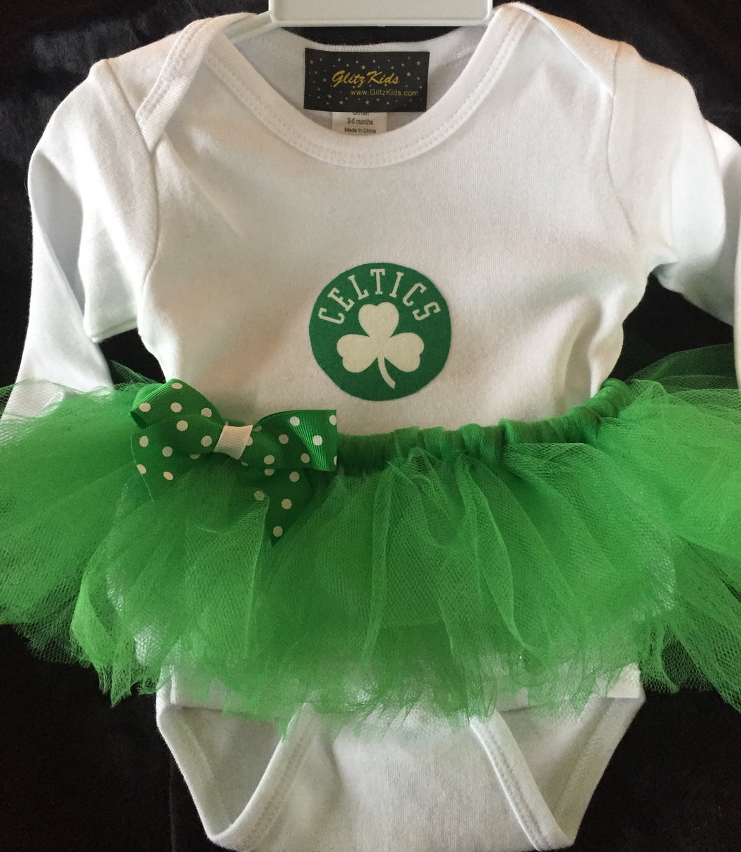Boston Celtics Baby Tutu Couture