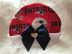 Girl's Infant Patriots Cap