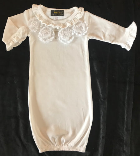Post Christening Cotton Gown