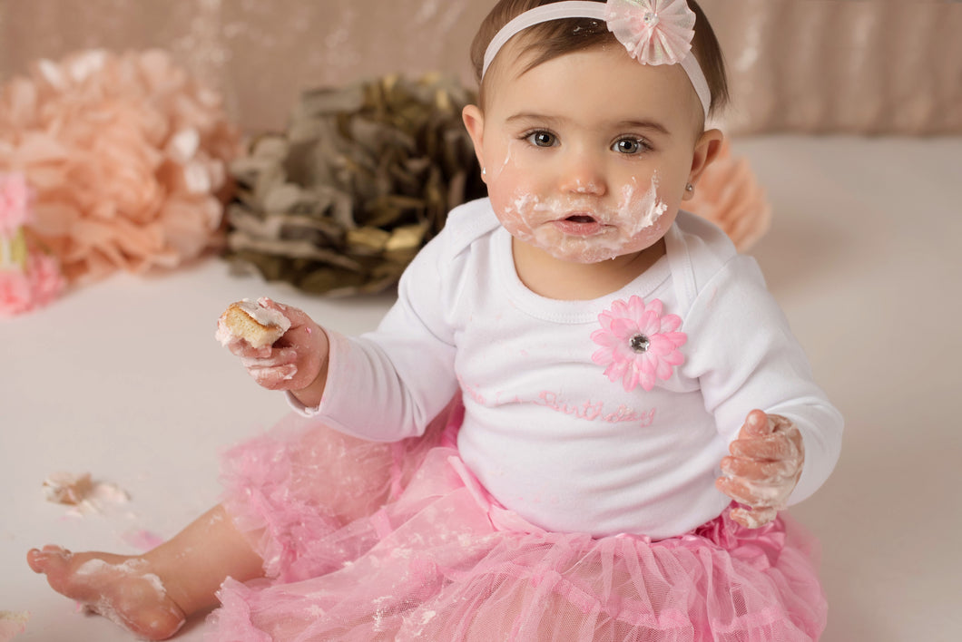 1st Birthday Girl Tutu Outfit