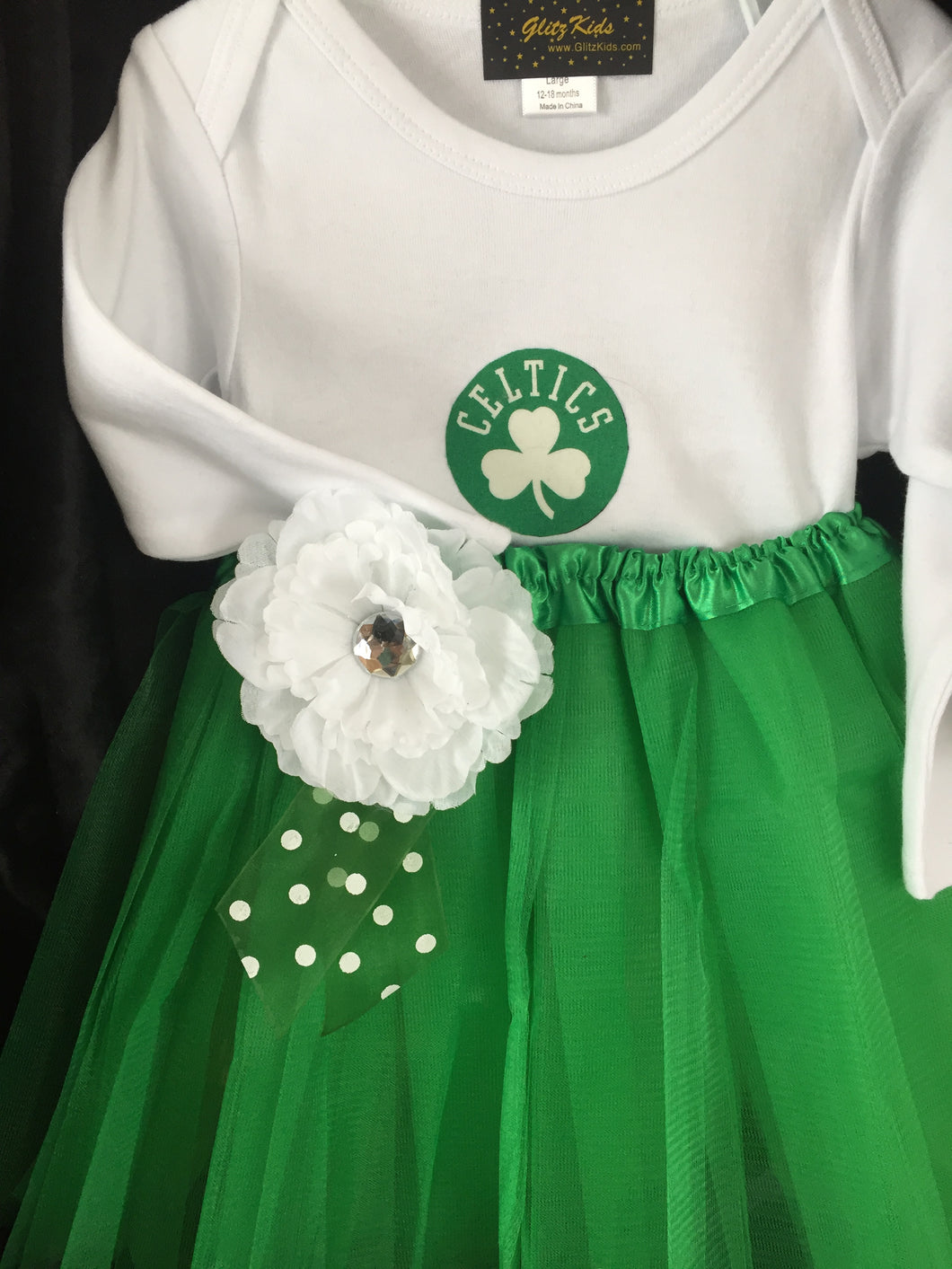Boston Celtics Tutu Outfit