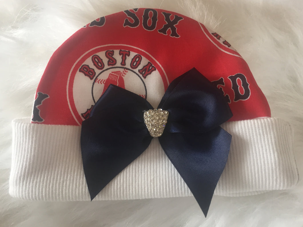 Girl's Red Sox NB Cap