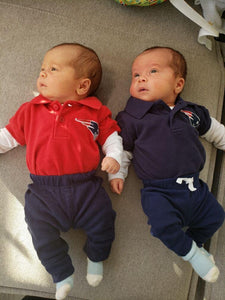 Short Sleeeve Patriot's Polo w/snaps