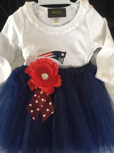 Girls' Patriots Tutu Outfit