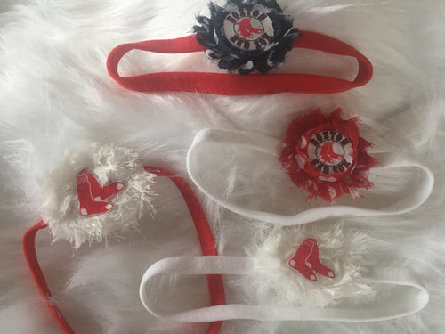 Baby Red Sox Headbands