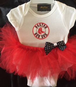 Boston Red Sox Tutu Outfit