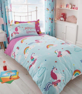 Magical Unicorn 'Reversible' Duvet Set