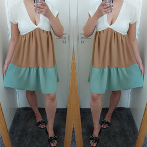 Alicia Smock Dress - Mint