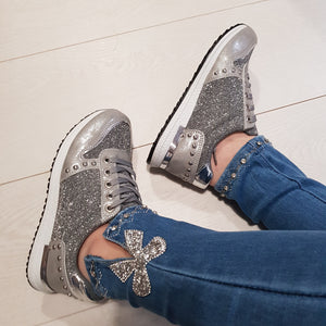 Lisa Studded Trainers
