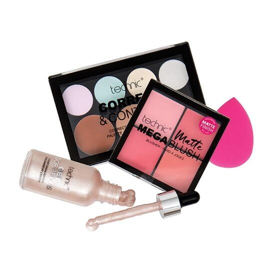 Technic All About That Face Makeup Kit Gift Set
