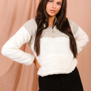 Tisha Teddy Fleece Jumper