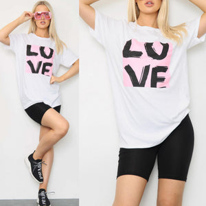 Jane Love T-Shirt - White