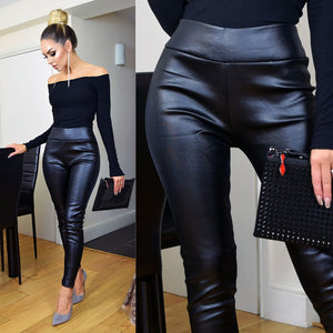Ellie Faux Leather Leggings