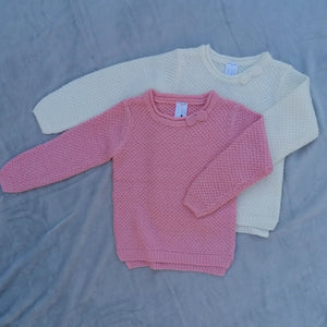 Girls Sparkly Knitted Jumper