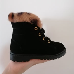 KIDS Gracie Faux Fur Boots