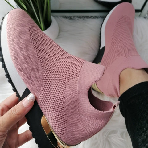 Ariana Sock Trainers - Pink