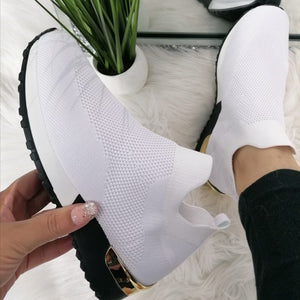 Ariana Sock Trainers - White