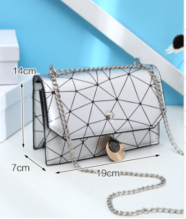 Geomertry Flap Top Crossbody Bag - 2 colours