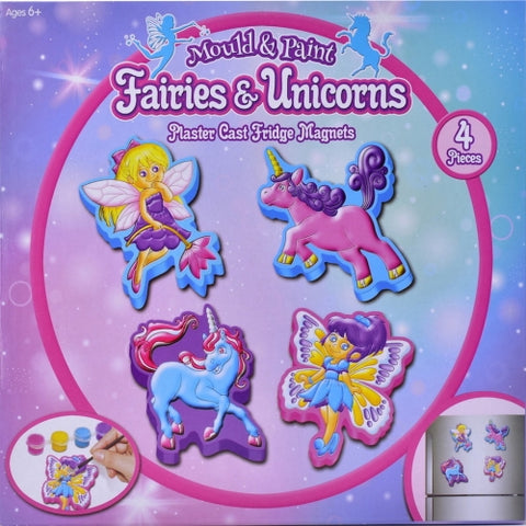 Mould And Paint Fairies & Unicorns