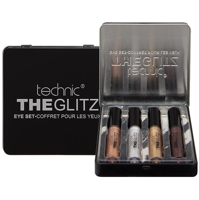 Technic The Glitz Liquid Glitter Eyeshadow Gift Set