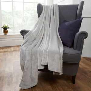 Supersoft Throw - Silver Grey