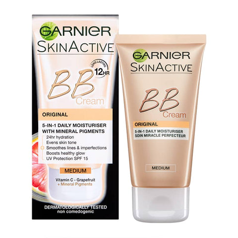 Garnier Miracle Skin Perfector Daily All-In-One B.B. Cream - Medium 50ml