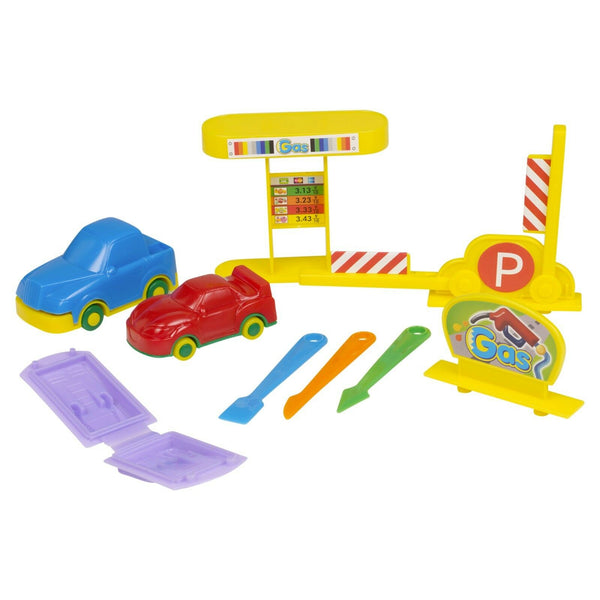 Car Dough Modelling Play Set