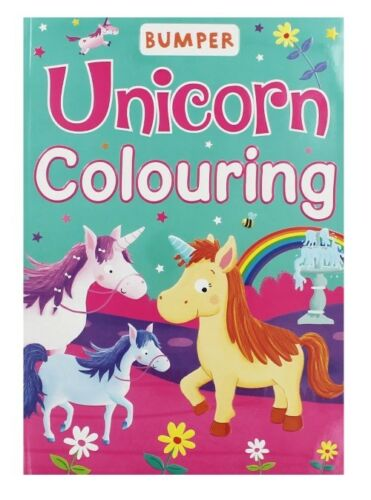 Bumper Unicorn Colouring Book