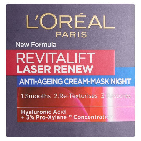 offer L'Oreal Paris Revitalift Laser Anti Ageing Night Cream 50ml 40+