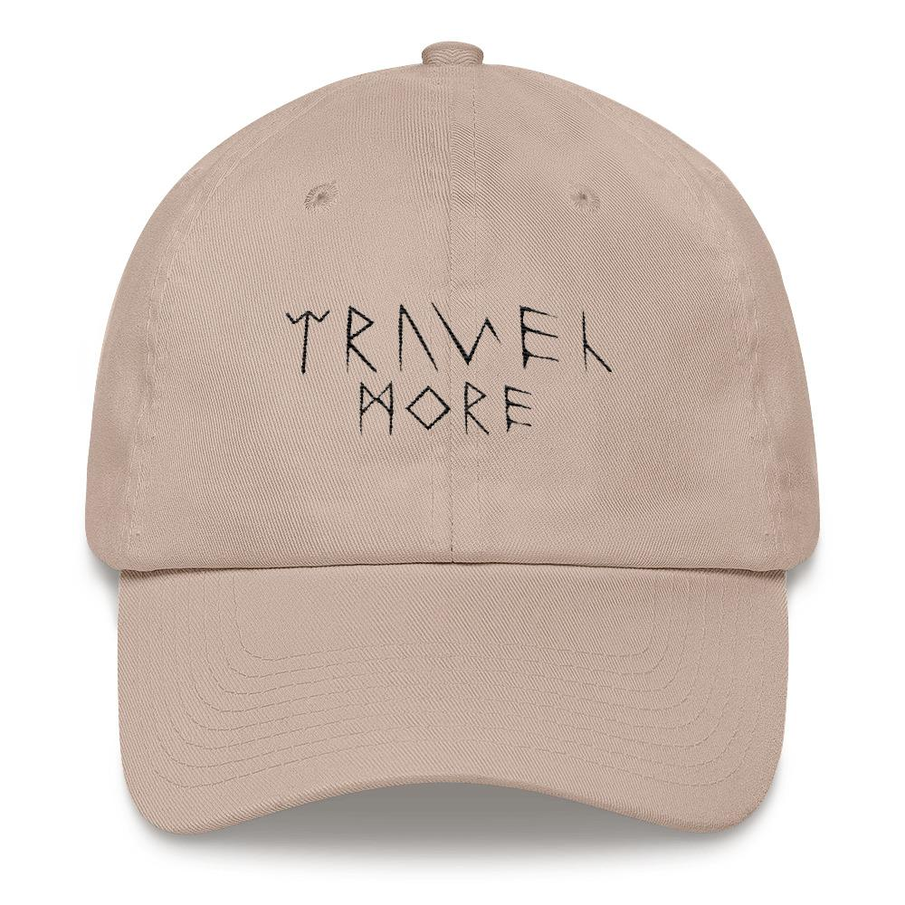 Travel More Dad Hat