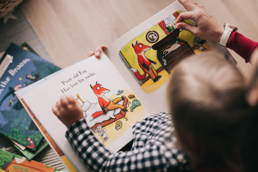 How Storytime Brings Grandchildren and Grandparents Closer