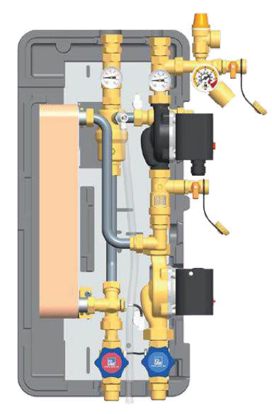 Domestic Hot Water Station 3/4