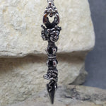 TOTEM TRIBAL SILVER NECKLACE