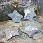STAR RAW ANGEL AURA QUARTZ NECKLACE