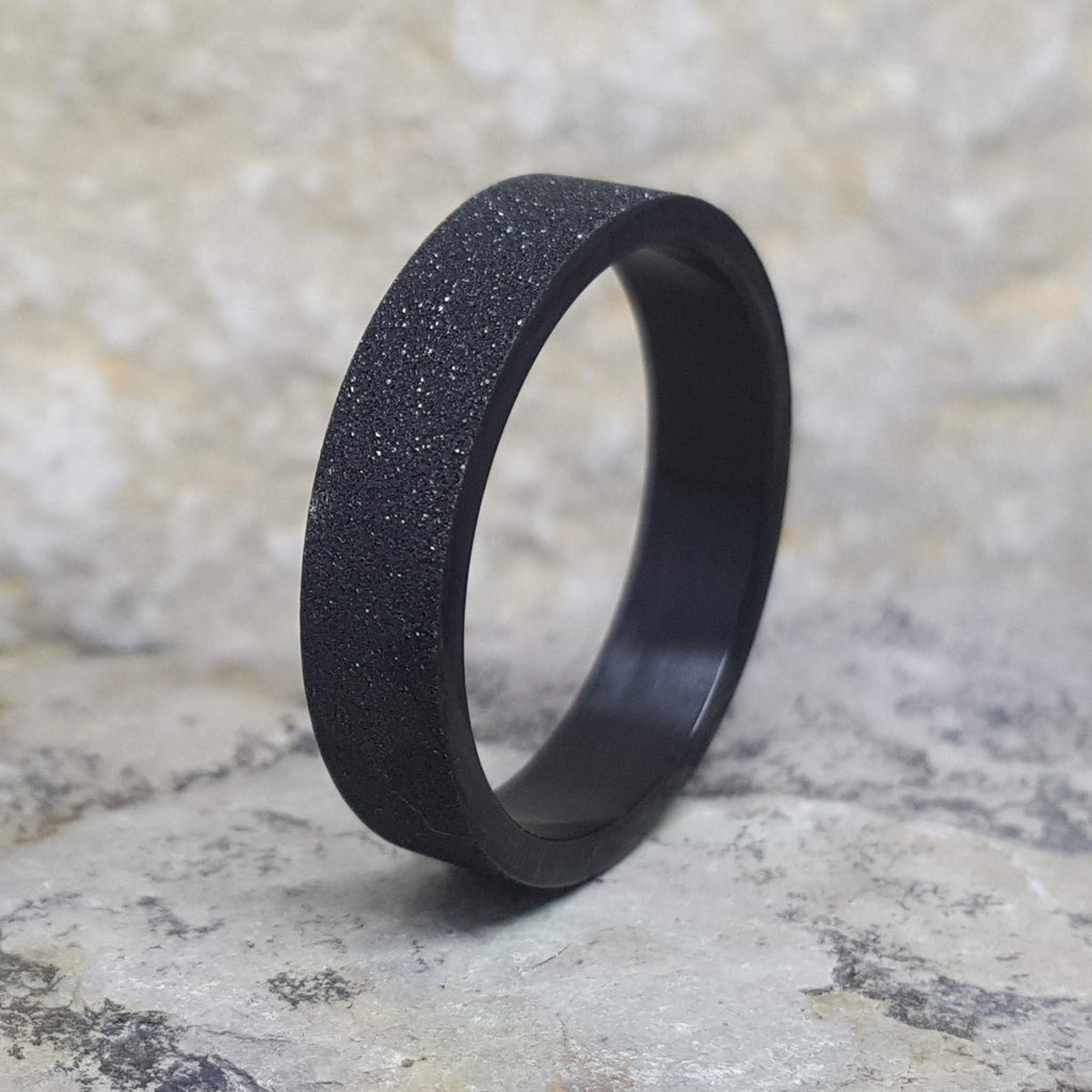 ALEX BLACK BAND RING