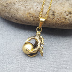 THE CLAW GOLD NECKLACE