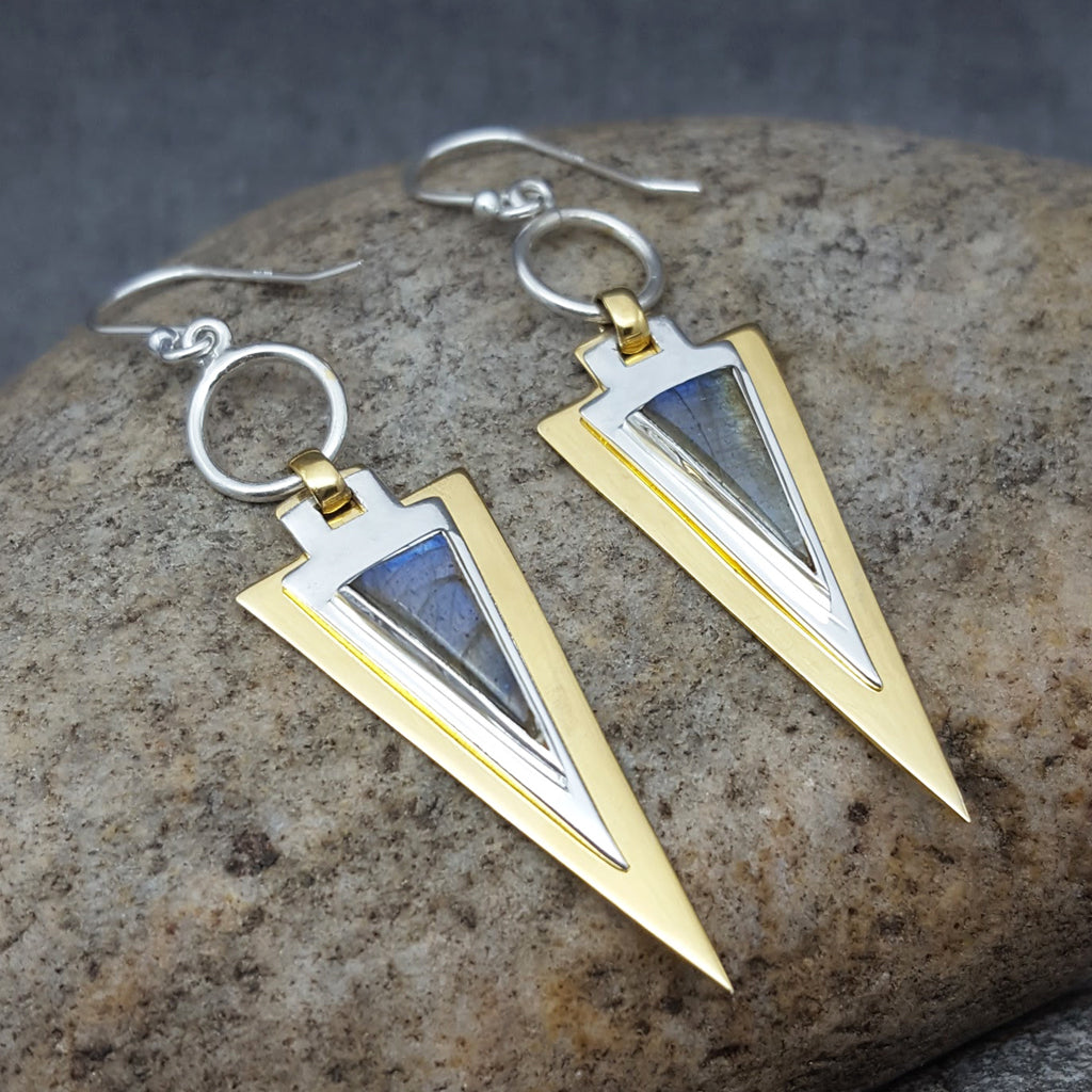 FARAON LABRADORITE EARRINGS