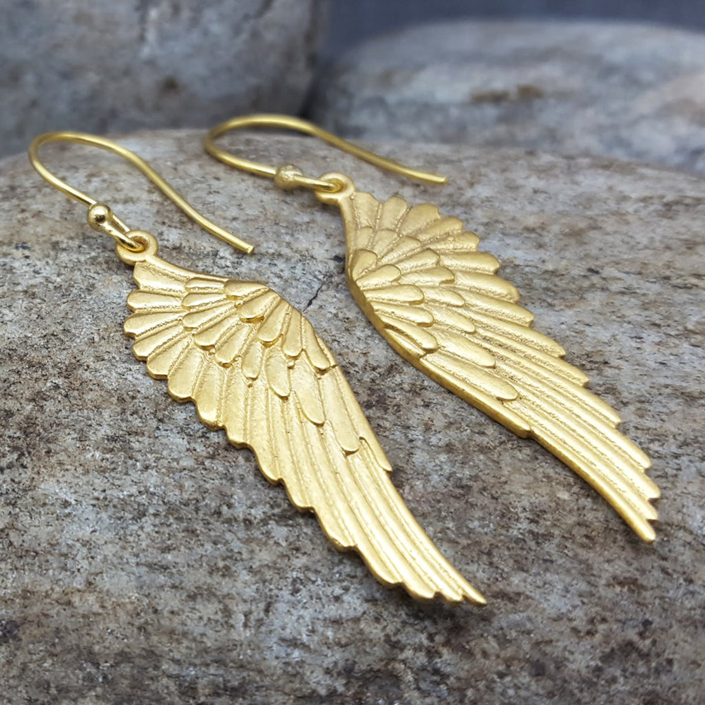 PEGASUS GOLD EARRINGS
