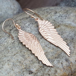PEGASUS WINGS ROSE GOLD EARRINGS