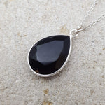 TEARS OF KALI BLACK ONYX CHARM