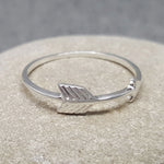 MINI ARROW SILVER RING