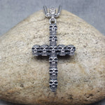 CEMENTERIO CRUZ STEEL NECKLACE