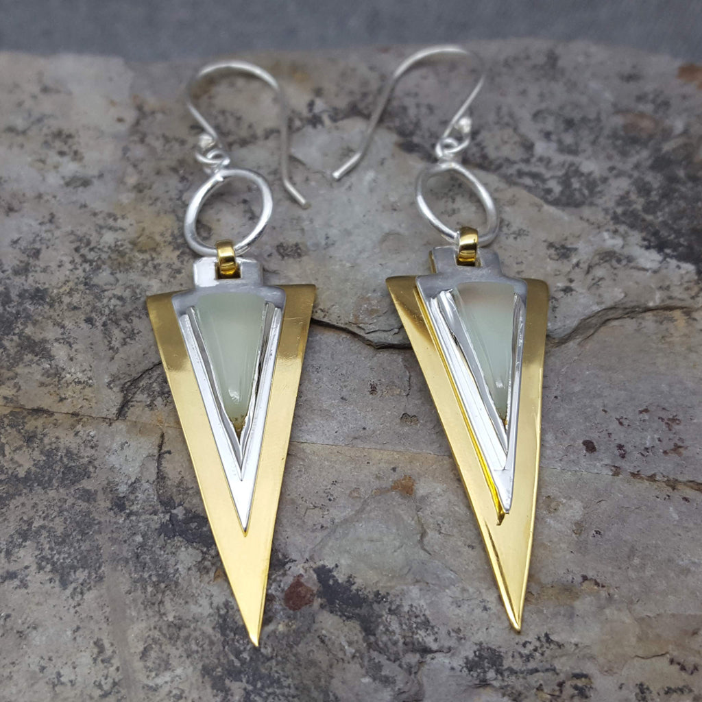 FARAON AQUA EARRINGS