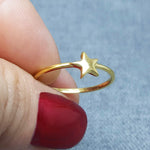 MINI STAR GOLD RING