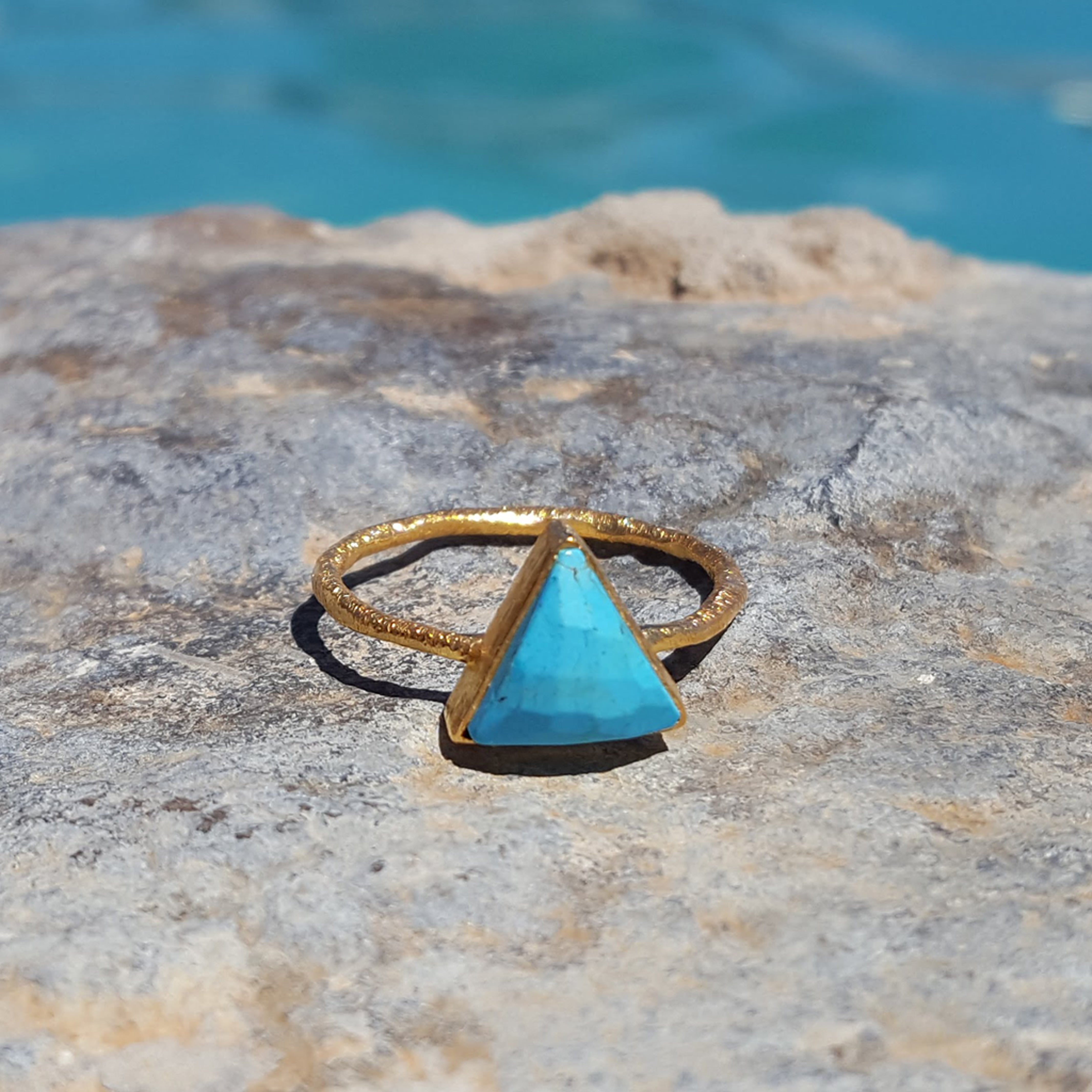 ARROW TURQUOISE RING